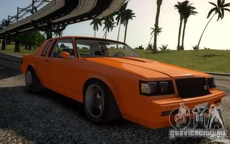 Buick Regal Grand National 1987 для GTA 4