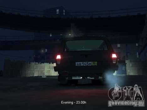 ГАЗ 310221 Универсал для GTA 4 вид изнутри