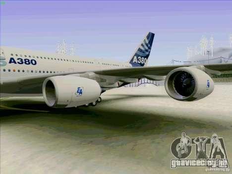 Airbus A380-800 для GTA San Andreas вид справа