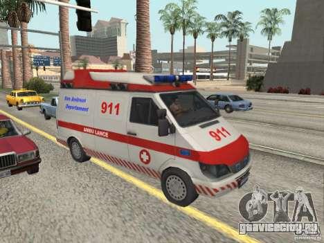 Ford Transit Ambulance для GTA San Andreas