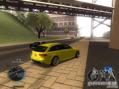 Электронный спидометр для GTA San Andreas пятый скриншот