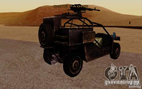 VDV Buggy из Battlefield 3 для GTA San Andreas вид слева