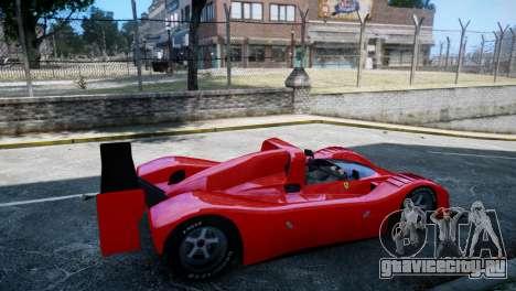 Ferrari 333 SP 1994 для GTA 4 вид сзади слева