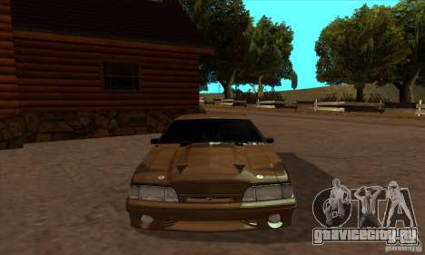 Ford Mustang SVT Cobra 1993 для GTA San Andreas вид справа