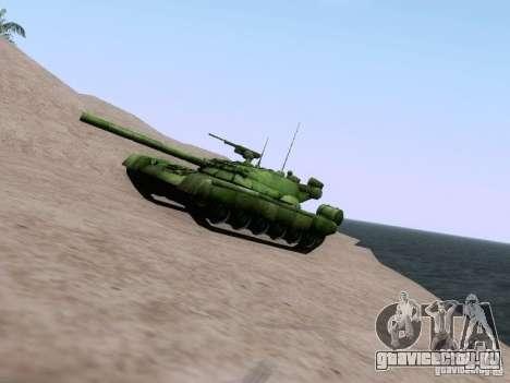 Т-80 для GTA San Andreas вид слева