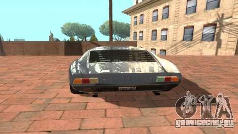 Lamborghini Miura P400 SV 1971 V1.0 для GTA San Andreas вид справа