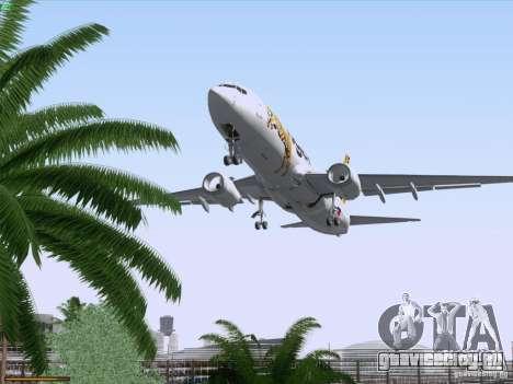 Boeing 737-800 Tiger Airways для GTA San Andreas вид снизу