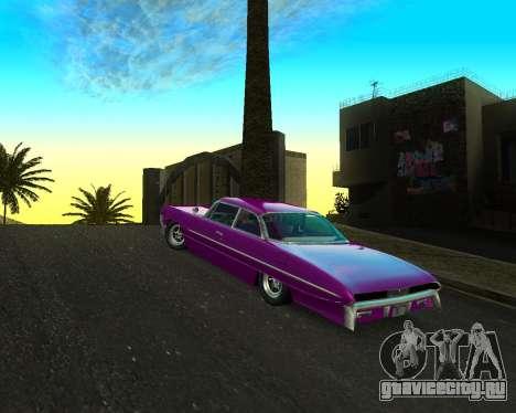 Chevrolet Impala для GTA San Andreas вид слева