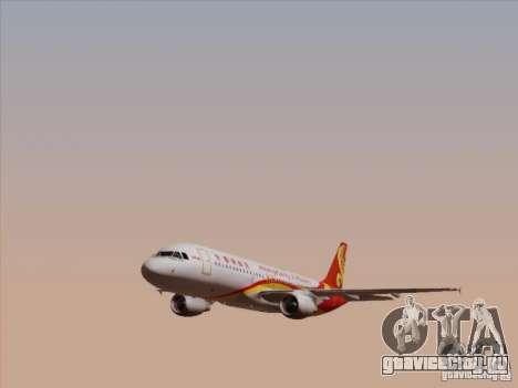 Airbus A320-214 Hong Kong Airlines для GTA San Andreas вид сбоку