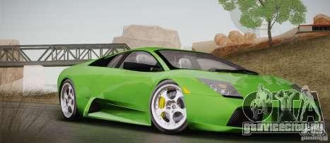 Lamborghini Murcielago 2002 v 1.0 для GTA San Andreas вид сбоку