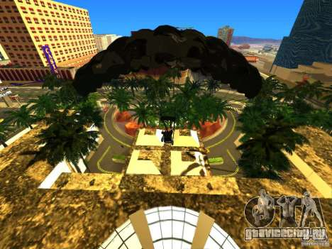 Global Parachute Mod для GTA San Andreas третий скриншот
