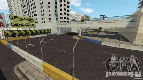 Long Beach Circuit [Beta] для GTA 4 десятый скриншот