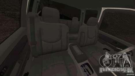 Chevrolet Silverado 2500 Lifted Edition 2000 для GTA 4 вид изнутри