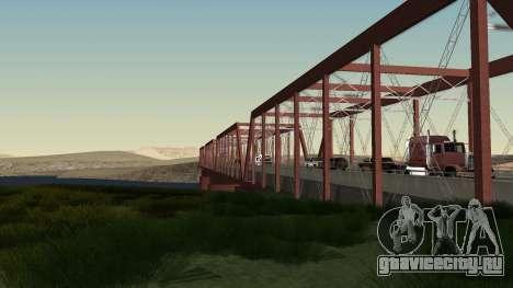 Новый мост LS-LV для GTA San Andreas третий скриншот