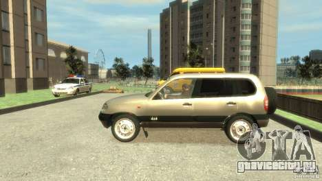 Chevrolet Niva для GTA 4 вид слева