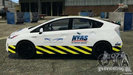 Toyota Prius NY Airport Service для GTA 4 вид слева