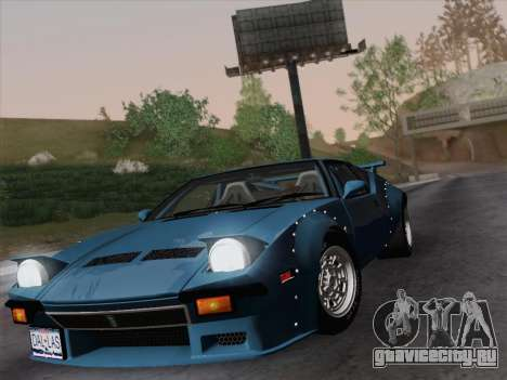 De Tomaso Pantera GT4 для GTA San Andreas вид справа
