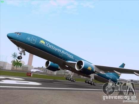 Boeing 777-2Q8ER Vietnam Airlines для GTA San Andreas вид сбоку