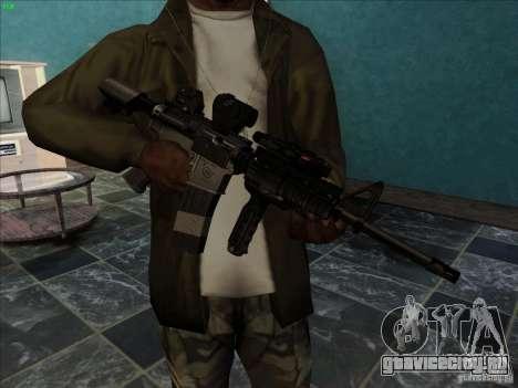 MK-18 US Navy Style для GTA San Andreas второй скриншот