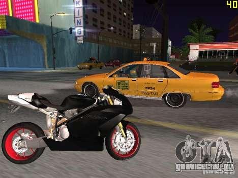Ducati 999R для GTA San Andreas вид слева
