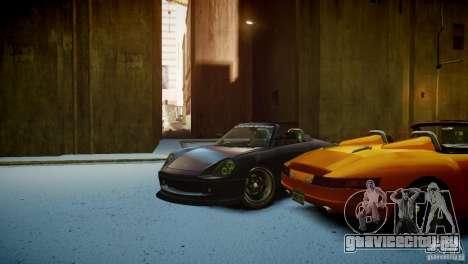 Comet Speedster для GTA 4 вид изнутри