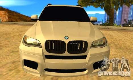 BMW X5M 2013 v2.0 для GTA San Andreas вид справа