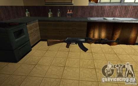 AK-47 из игры Left 4 Dead для GTA San Andreas
