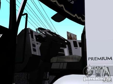 Renault Premium Бетоносмеситель для GTA San Andreas вид сзади
