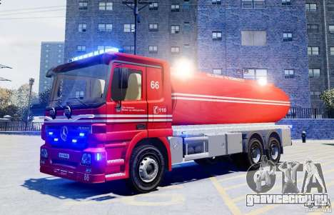 Mercedes-Benz Vanntankbil / Water Tanker для GTA 4