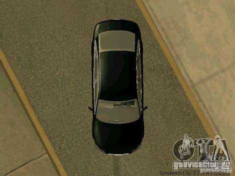 Audi A6 для GTA San Andreas вид изнутри