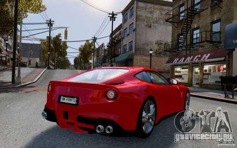 Ferrari F12 Berlinetta 2013 [EPM] для GTA 4 вид слева