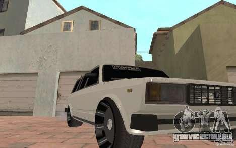 ВАЗ 2104 для GTA San Andreas салон