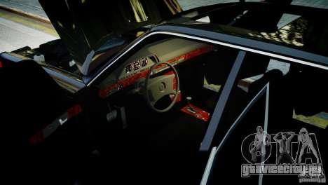 Mercedes-Benz 560 SEL Black Edition для GTA 4 вид сзади слева
