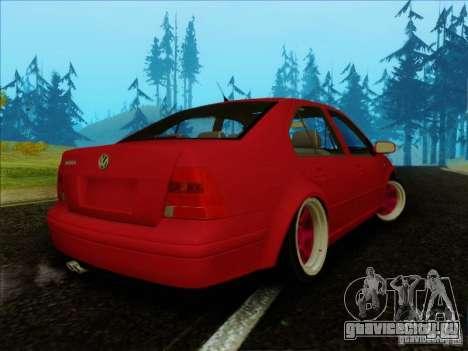 Volkswagen Bora HellaFlush для GTA San Andreas вид слева