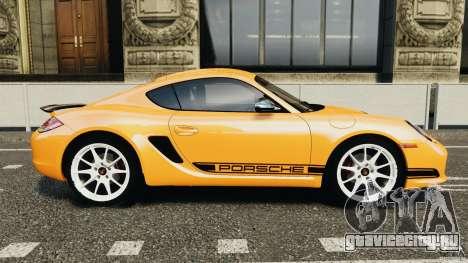Porsche Cayman R 2012 [RIV] для GTA 4 вид слева