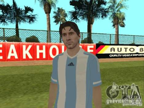 Lionel Messi для GTA San Andreas