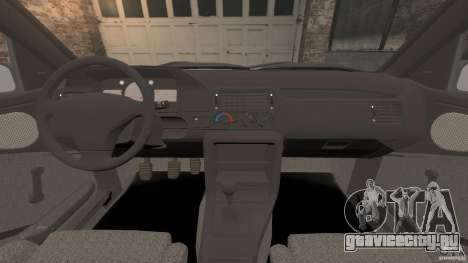 Ford Escort L 1994 Custom для GTA 4 вид сзади