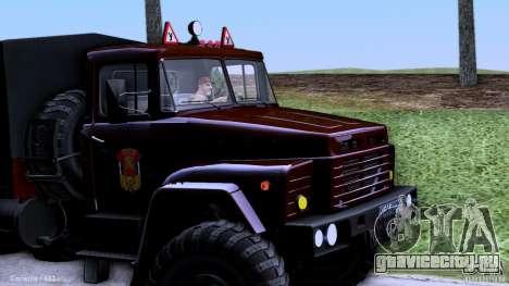 КРАЗ Автошкола для GTA San Andreas вид слева
