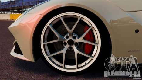Ferrari F12 Berlinetta DCM для GTA 4 вид сверху