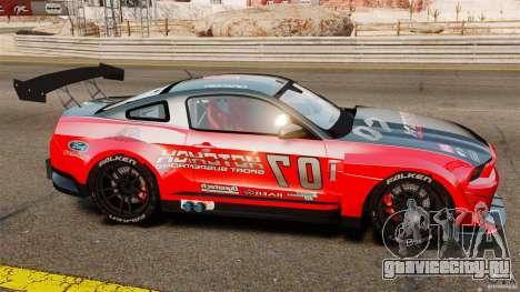 Ford Mustang 2010 GT1 для GTA 4 вид слева