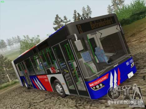 Design X3 для GTA San Andreas вид сзади слева