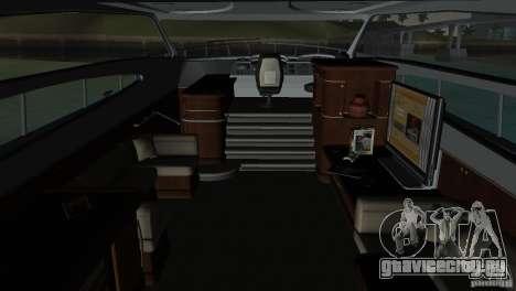 Катер для GTA Vice City вид сверху