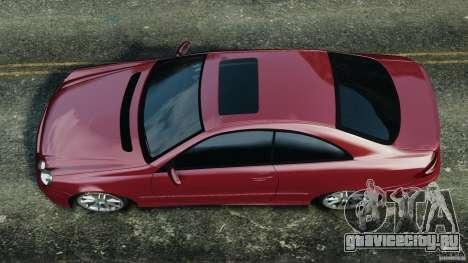 Mercedes-Benz CLK 63 AMG для GTA 4 вид справа