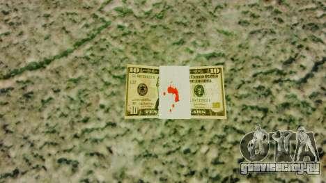 Денежные купюры США номиналом 10$ для GTA 4