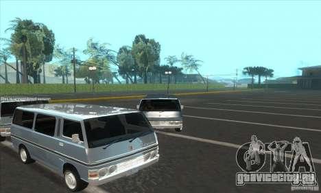 Nissan Caravan E20 для GTA San Andreas вид справа