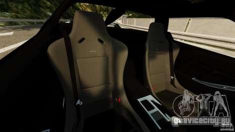 Honda NSX-R GT для GTA 4 вид изнутри