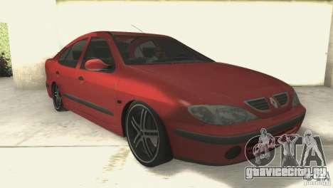 Renault Megane 2000 для GTA San Andreas