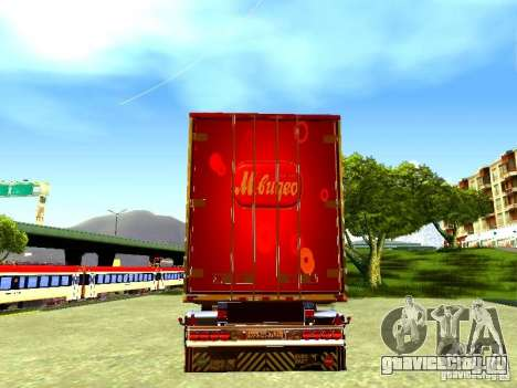 Прицеп М.Видео для GTA San Andreas вид справа
