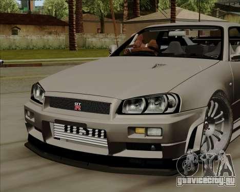 Nissan Skyline GTR R34 для GTA San Andreas