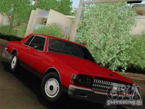 Chevrolet Caprice 1986 для GTA San Andreas вид слева